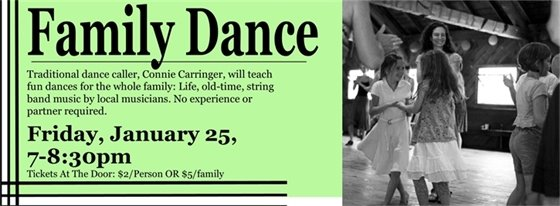 Family Dance - January 25
