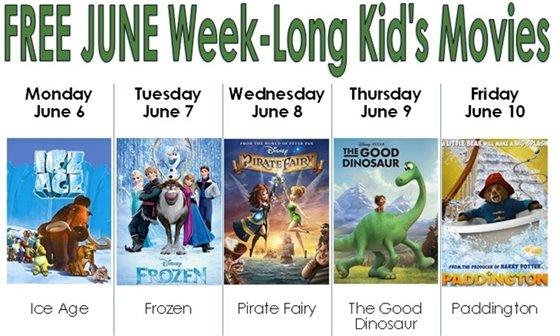 Summer Week Long Movies