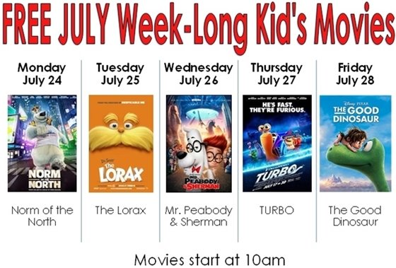 FREE Movie Week