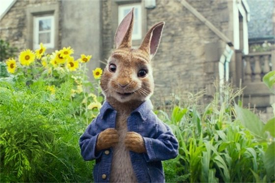 Peter Rabbit - Pizza & a Movie