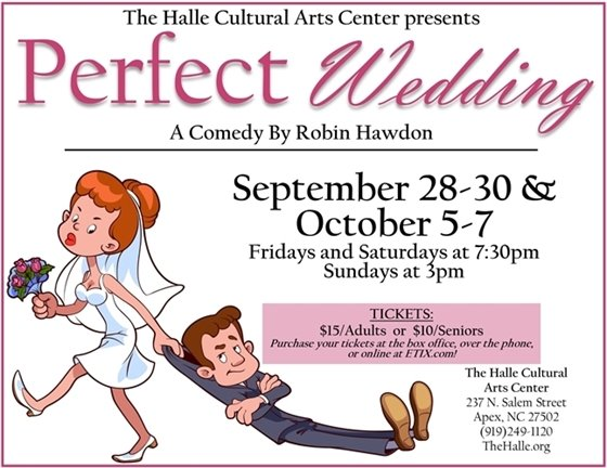 """Perfect Wedding"" A comedy by Robin Hawdon"