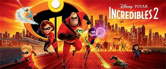 Pizza & a Movie: Incredibles 2