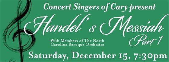 """Handel's """"Messiah"""" Part 1"""