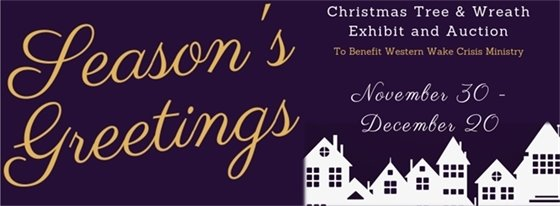 Christmas Tree & Wreath Auction Open through December 20, 1pm