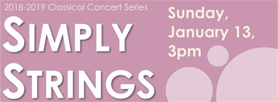 Simply Strings Concert