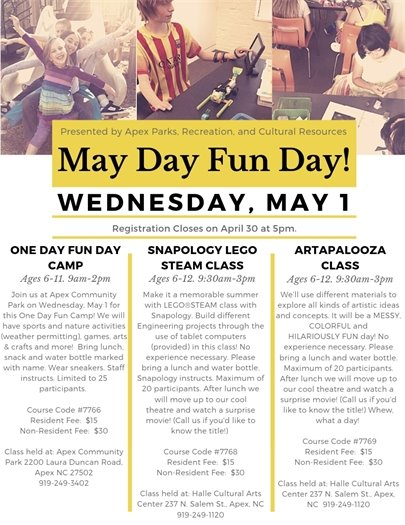 May Day Fun Day!