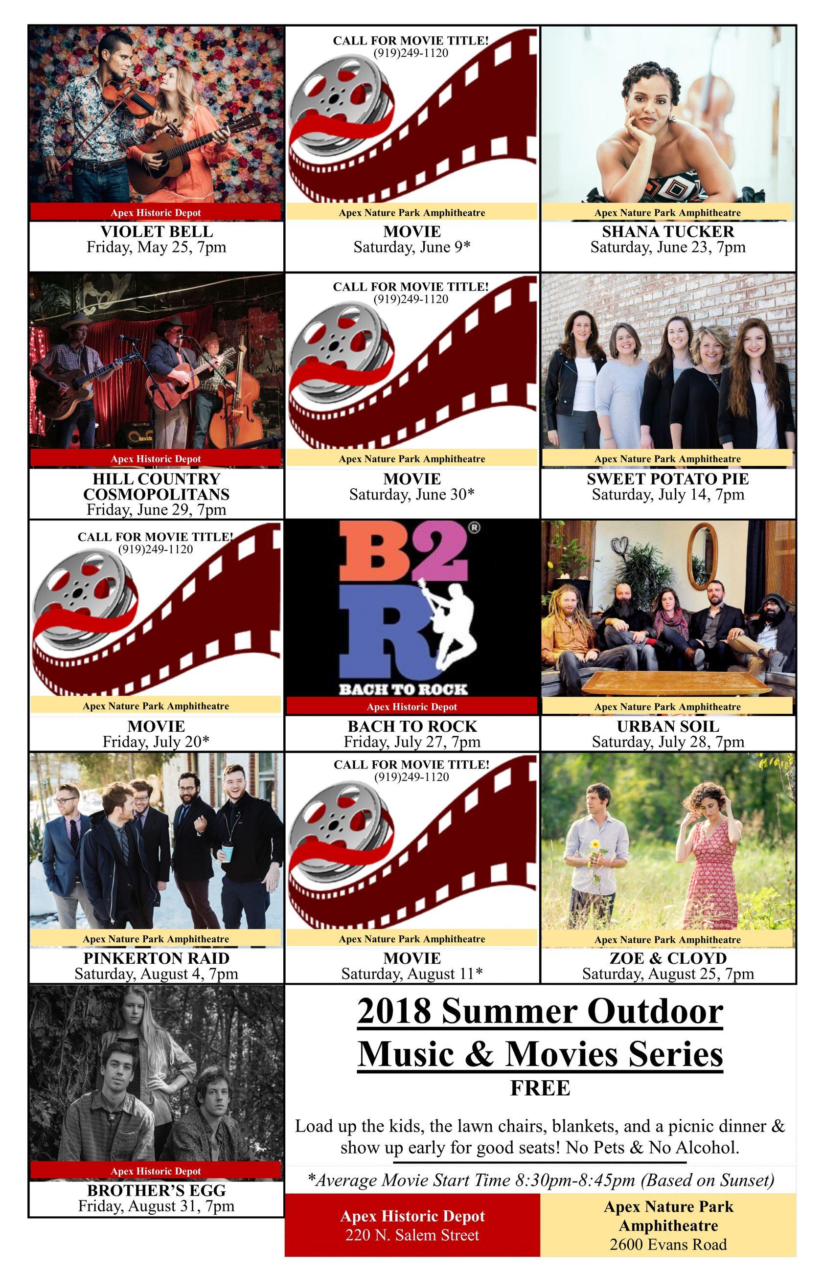 Summer Series Poster
