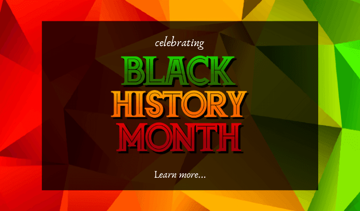 Black History Month - homepage