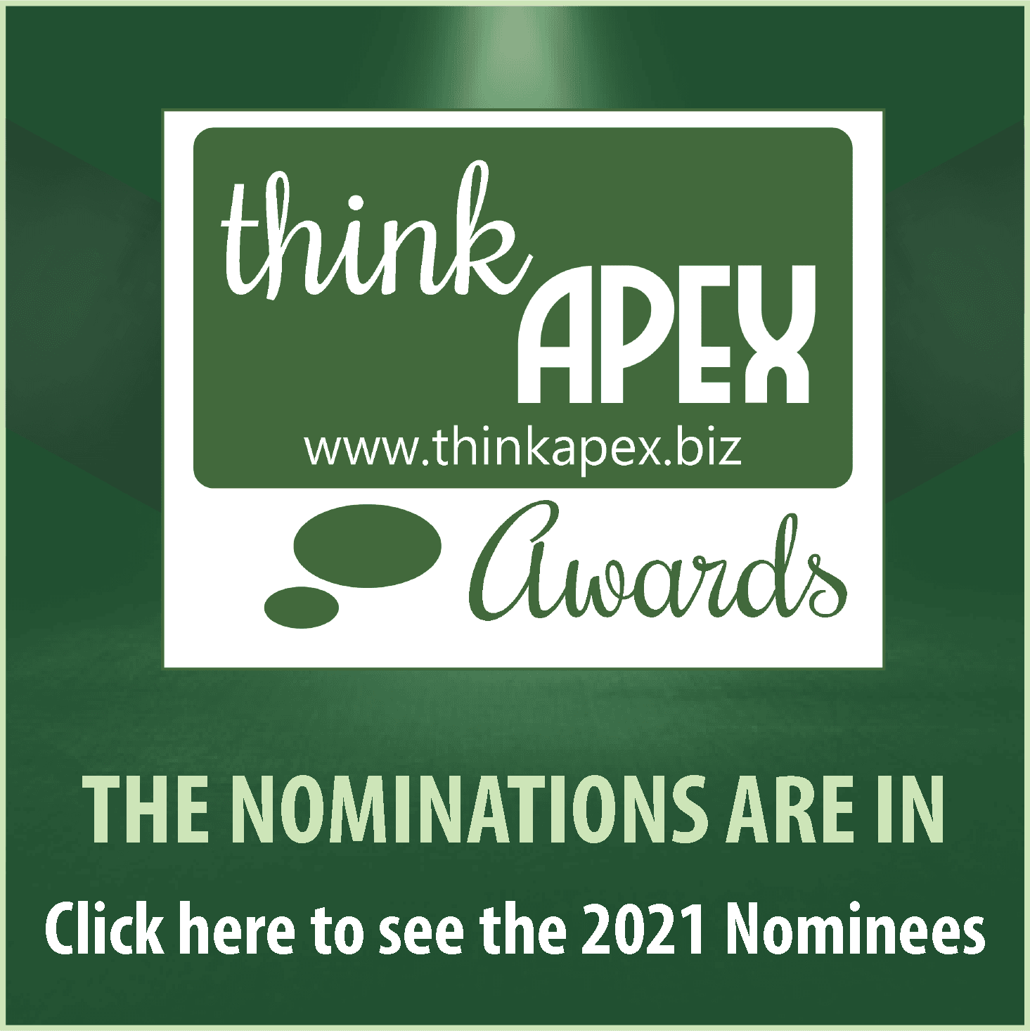 Think Apex Award Nominees